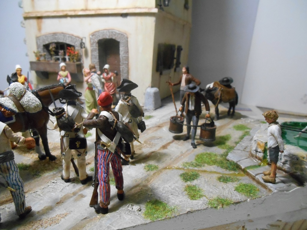 """""""Adieu, mon amour, reviens vite!""""-Figurines HISTOREX, NEMROD, CE CHER PASSE- 1/32e et 1/35e - Décor scratch intégral R-les_15"""