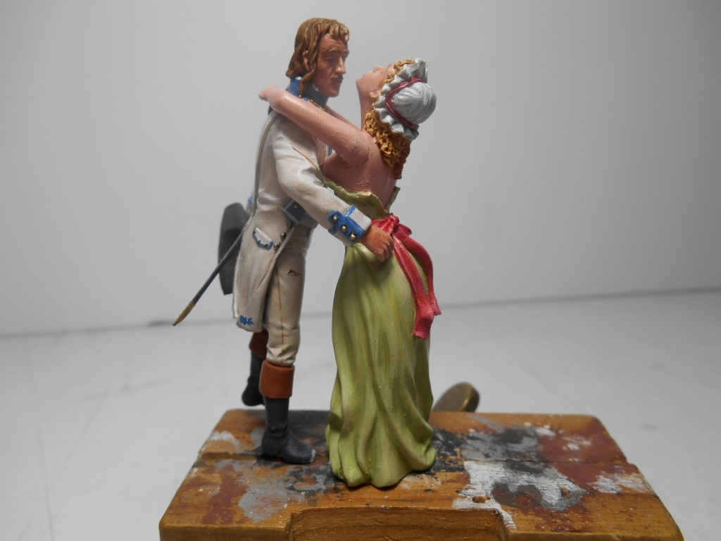 """""""Adieu, mon amour, reviens vite!""""-Figurines HISTOREX, NEMROD, CE CHER PASSE- 1/32e et 1/35e - Décor scratch intégral R-pers19"""