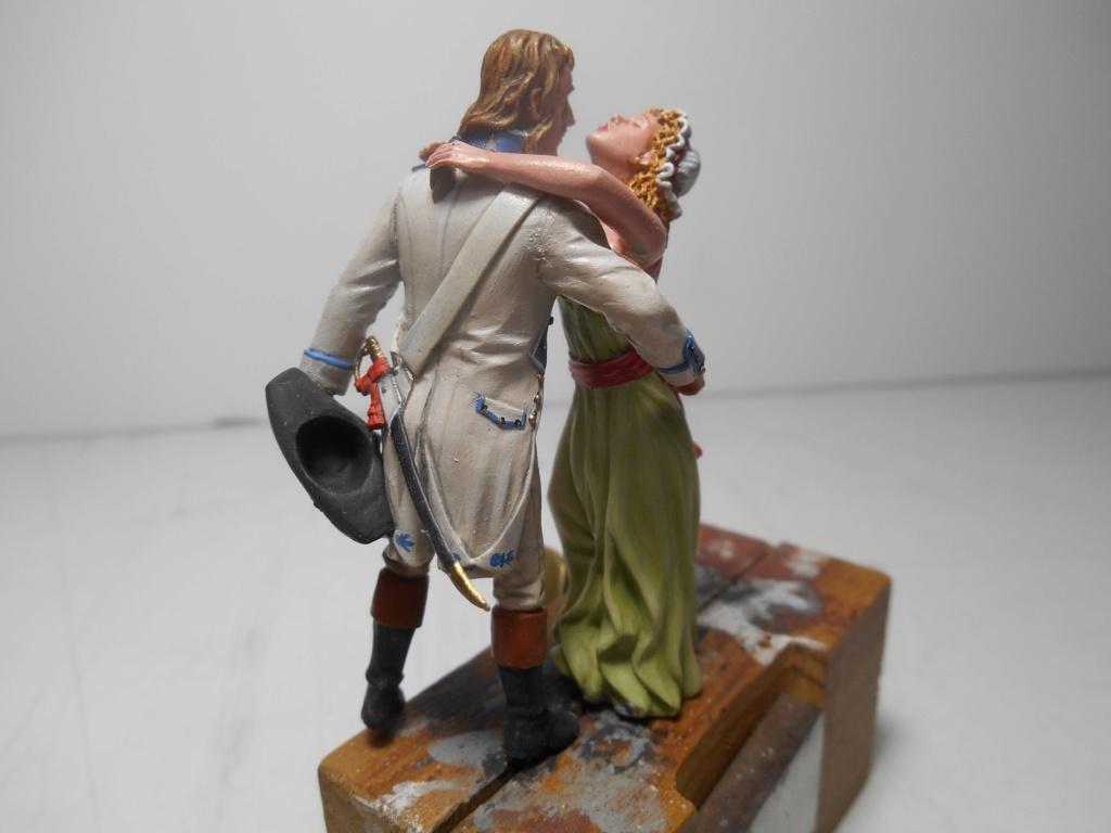 """""""Adieu, mon amour, reviens vite!""""-Figurines HISTOREX, NEMROD, CE CHER PASSE- 1/32e et 1/35e - Décor scratch intégral R-pers20"""