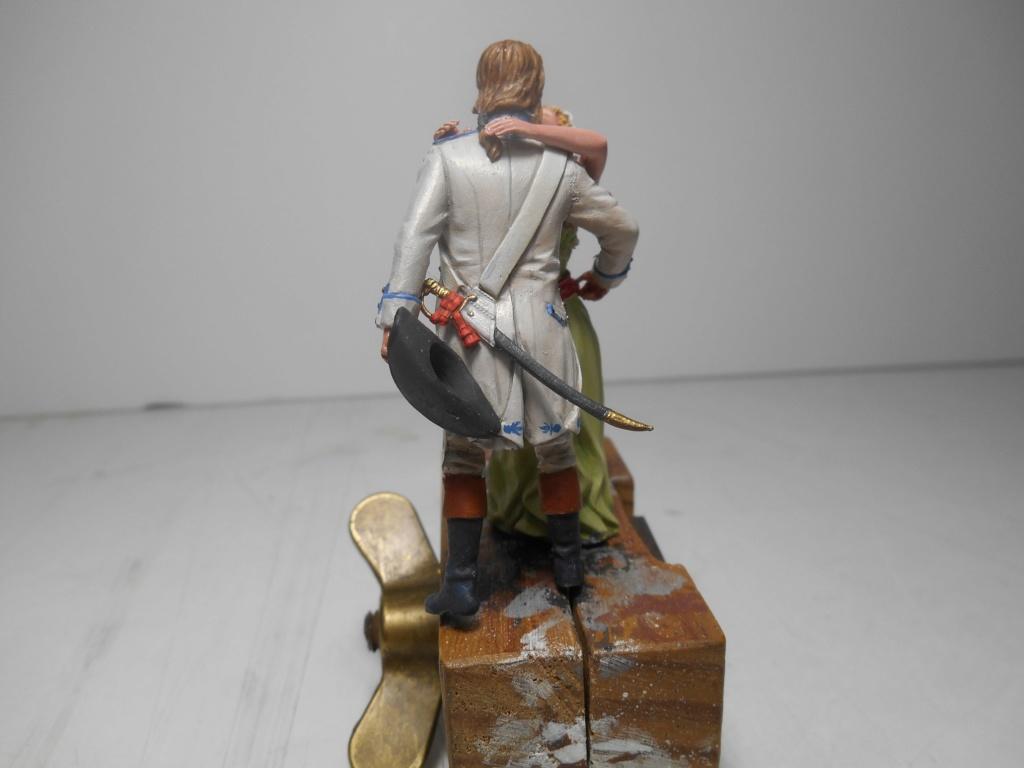 """""""Adieu, mon amour, reviens vite!"""" - Figurines HISTOREX, NEMROD, CE CHER PASSE- 1/32e et 1/35e- Déco  R-pers21"""