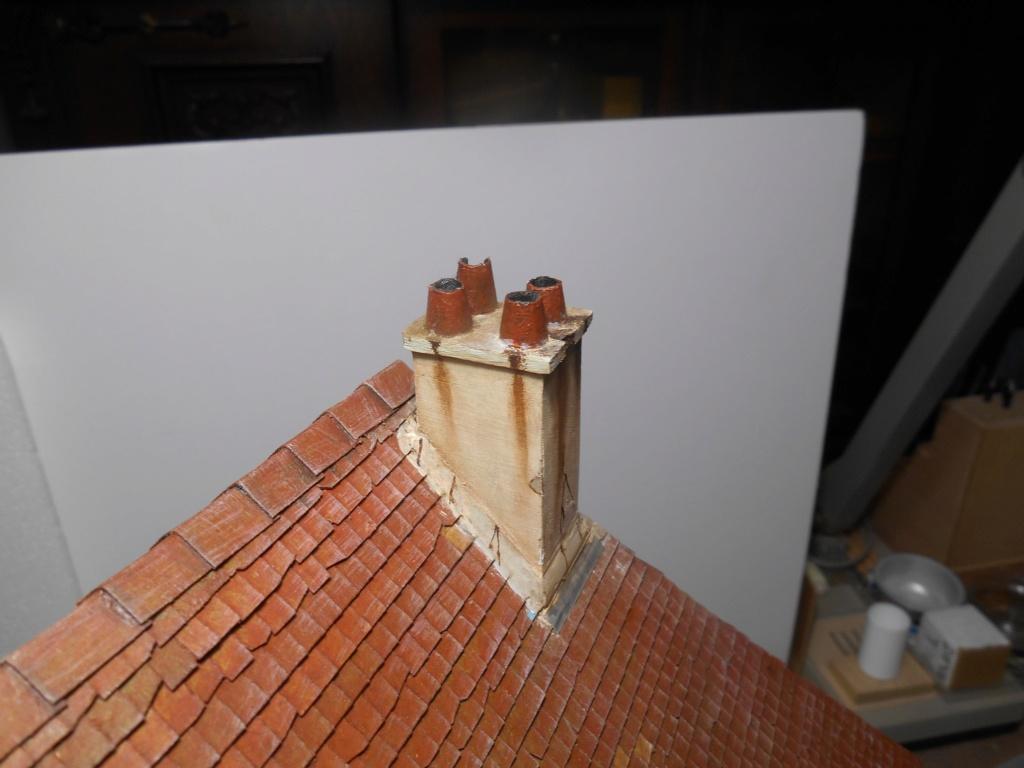 Re: Il était une fois... une maison - Tout scratch - Réalisation sans plan ni cotes au 1/32e R40-ma10