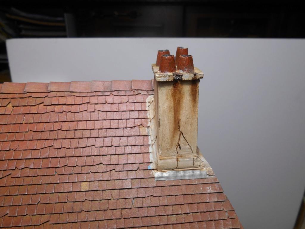 Re: Il était une fois... une maison - Tout scratch - Réalisation sans plan ni cotes au 1/32e R40-ma11