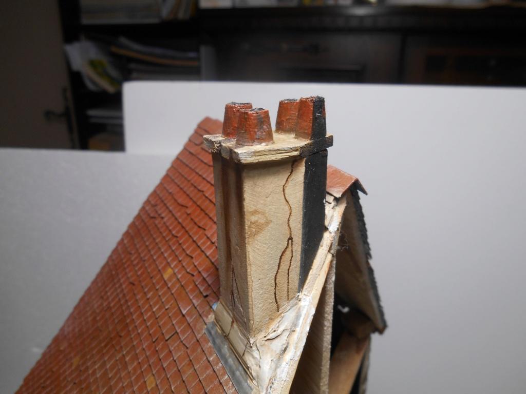 Re: Il était une fois... une maison - Tout scratch - Réalisation sans plan ni cotes au 1/32e R40-ma12