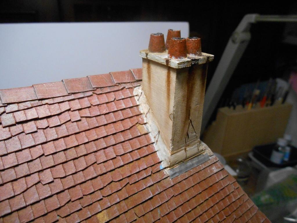 Re: Il était une fois... une maison - Tout scratch - Réalisation sans plan ni cotes au 1/32e R40-ma13