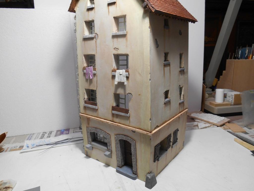 Re: Il était une fois... une maison - Tout scratch - Réalisation sans plan ni cotes au 1/32e R40-ma19