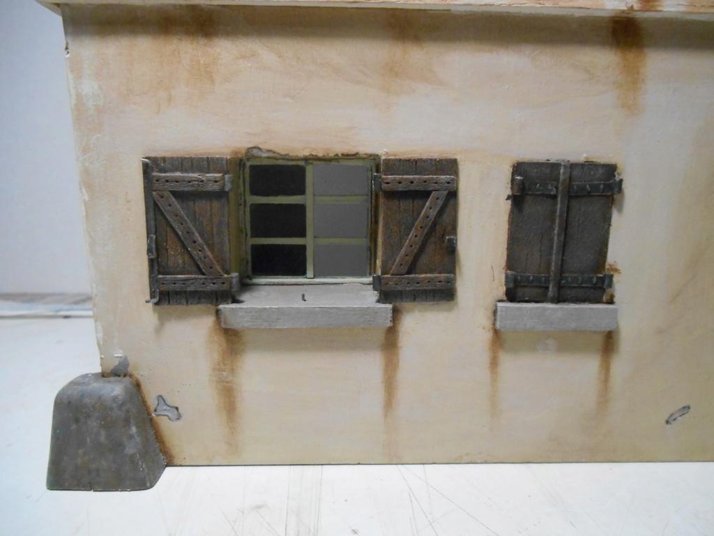 Il était une fois... une maison  -  Tout scratch  - Réalisation sans plan ni cotes au 1/32e R40-ma25