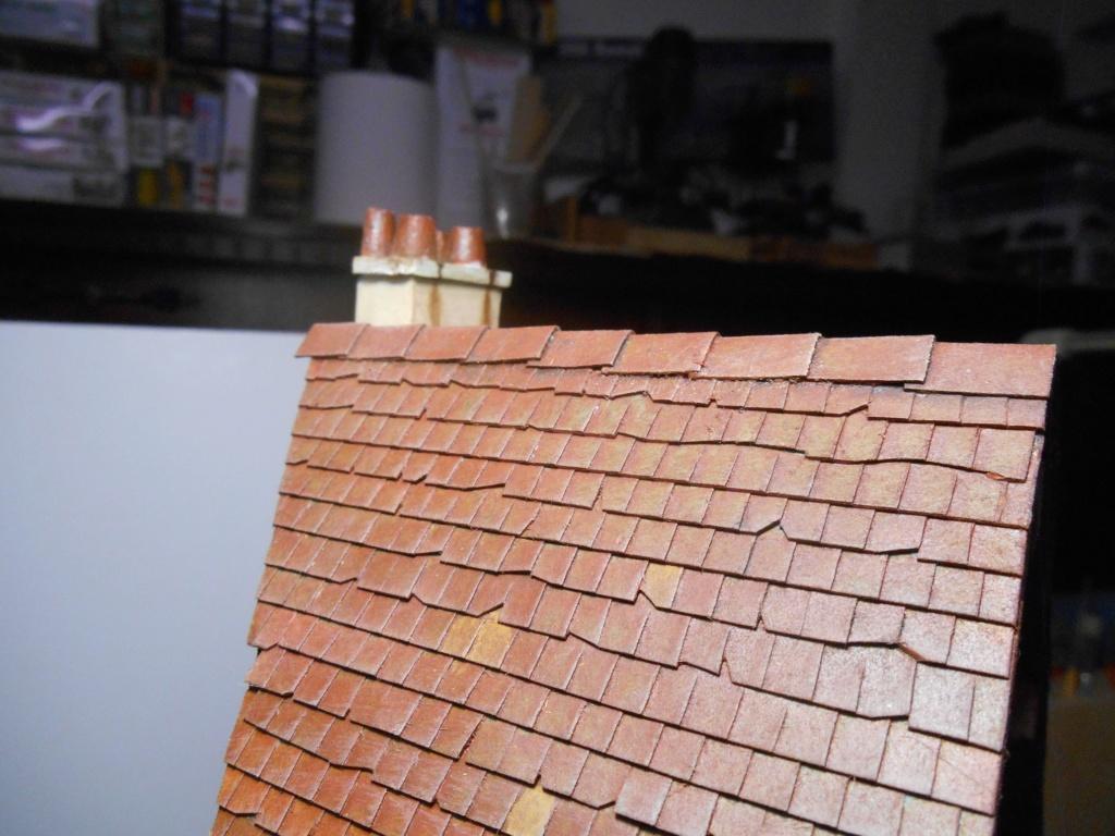 Il était une fois... une maison  -  Tout scratch  - Réalisation sans plan ni cotes au 1/32e R40-ma29