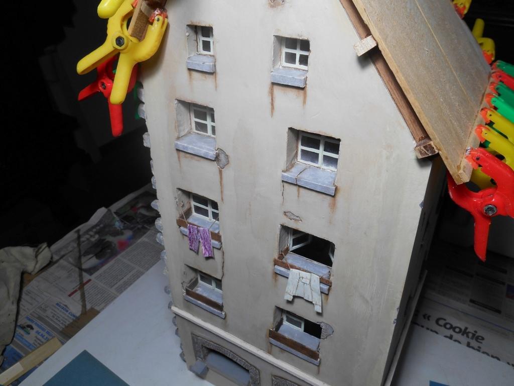 Re: Il était une fois... une maison - Tout scratch - Réalisation sans plan ni cotes au 1/32e R40-tu18