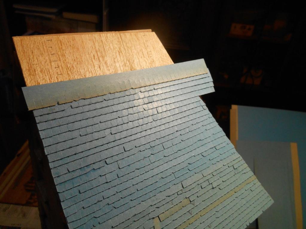 Re: Il était une fois... une maison - Tout scratch - Réalisation sans plan ni cotes au 1/32e R40-tu20