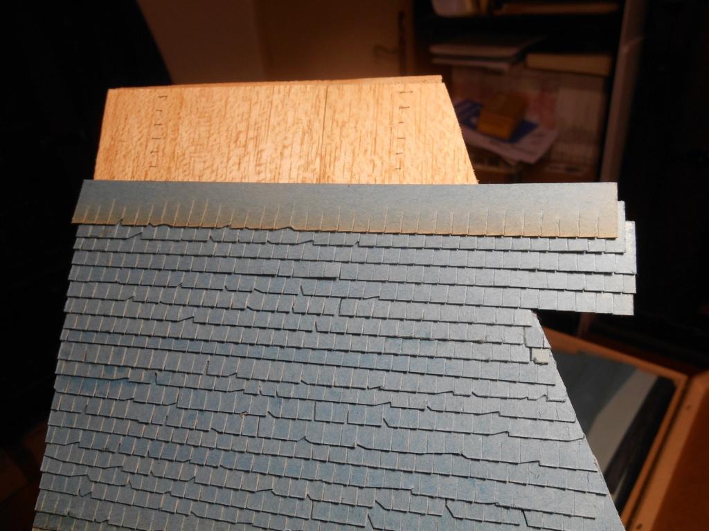 Re: Il était une fois... une maison - Tout scratch - Réalisation sans plan ni cotes au 1/32e R40-tu21