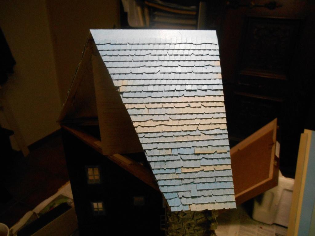 Re: Il était une fois... une maison - Tout scratch - Réalisation sans plan ni cotes au 1/32e R40-tu23
