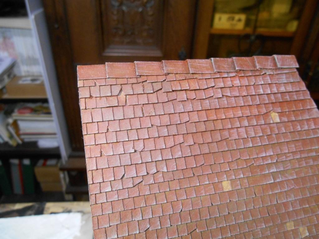 Re: Il était une fois... une maison - Tout scratch - Réalisation sans plan ni cotes au 1/32e R40-tu25