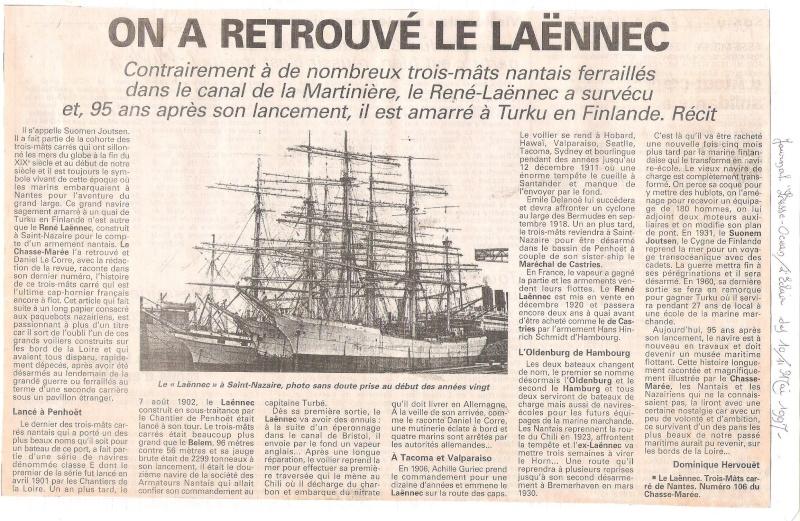 [Marine à voile] Le  trois mâts LAENNEC Laenne10