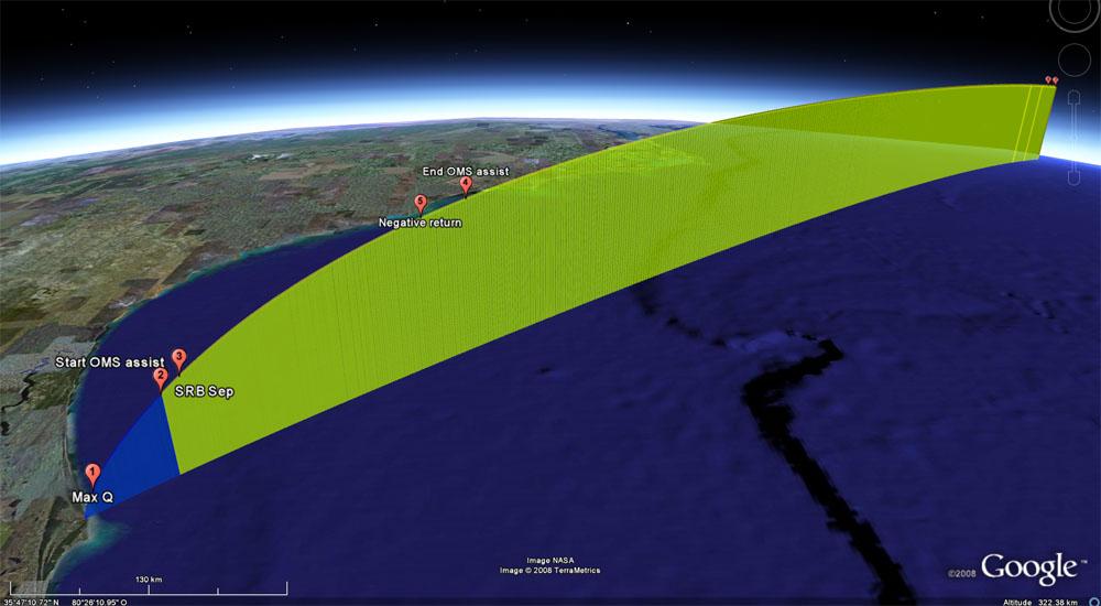 [STS126-Endeavour] Le lancement Temp211