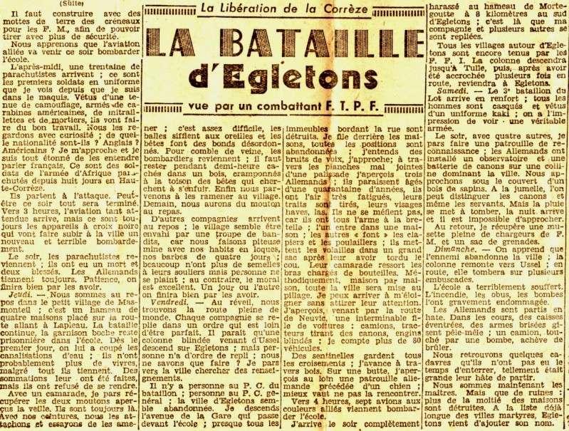 Le parachutage SAS et les combats d'Egletons en Corrèze  Img01313