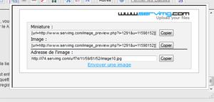 Utiliser les boutons sur le forum pour la mise en page Image110