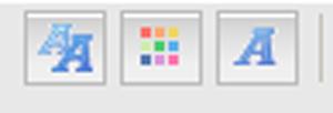 Utiliser les boutons sur le forum pour la mise en page Texte10
