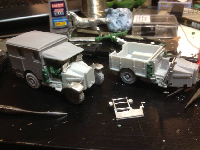 SAS avec des jeeps dedans, et Légion Etrangére avec des armes de soutien dedans chez Perry Miniatures ... 10686710