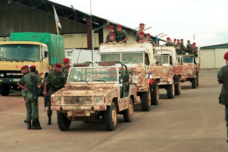 """Opération """"Amaryllis"""" -l'évacuation des ressortissant français et étrangers du Rwanda 01-94-11"""