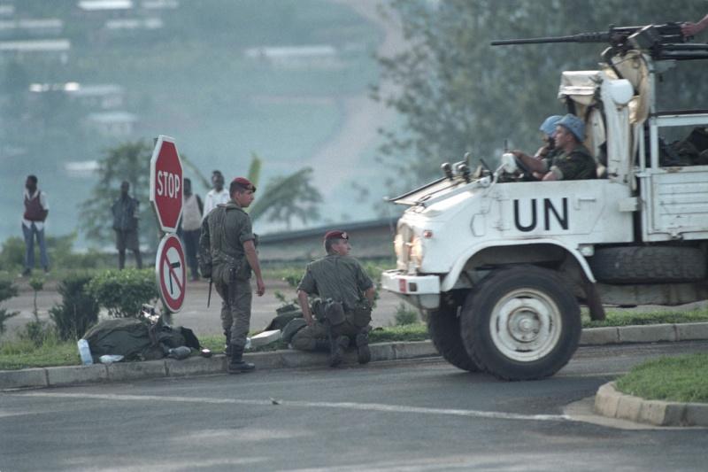 """Opération """"Amaryllis"""" -l'évacuation des ressortissant français et étrangers du Rwanda 01-94-19"""