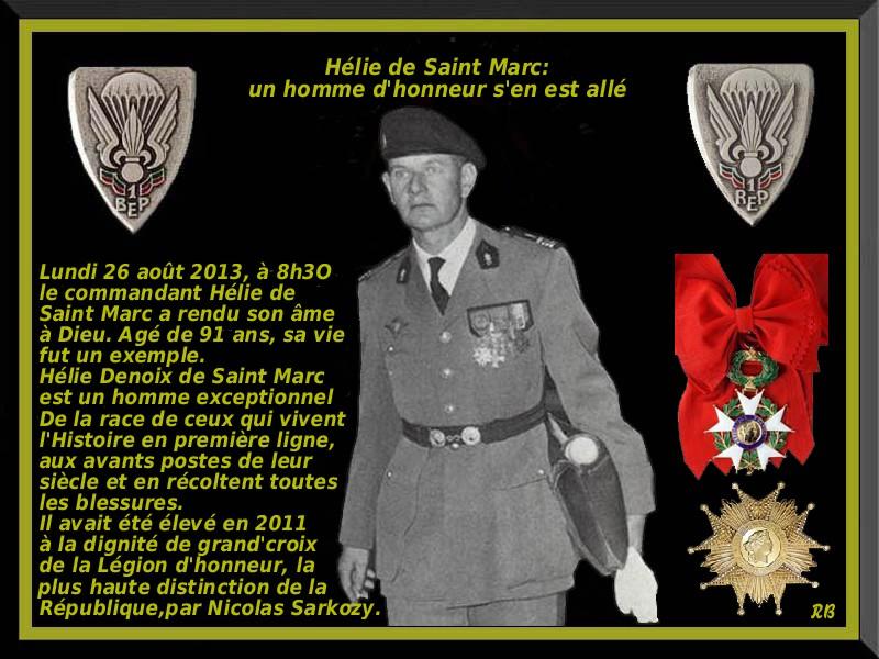 Mort d'Hélie de Saint Marc, homme de refus et de réconciliation 1_plaq14