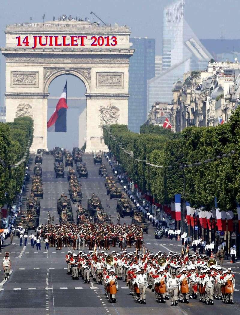La Légion étrangère était  sur les Champs-Élysées pour le défilé du 14-juillet.  2_lagi10