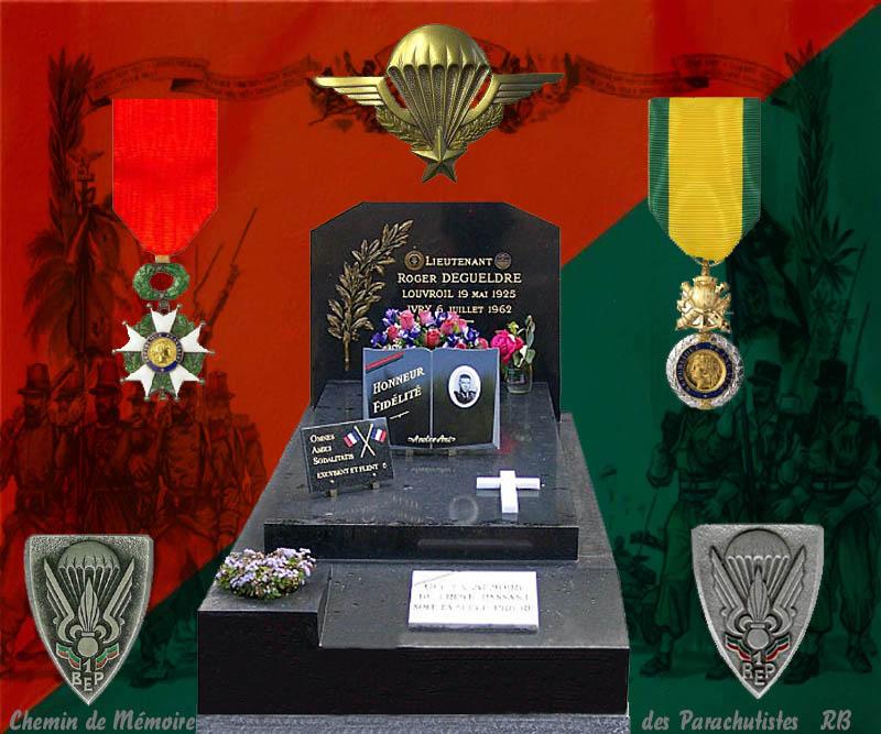 DEGUELDRE Roger lieutenant 1er REP - fusillé au Fort d'Ivry le 6 juillet 1962 2_roge10