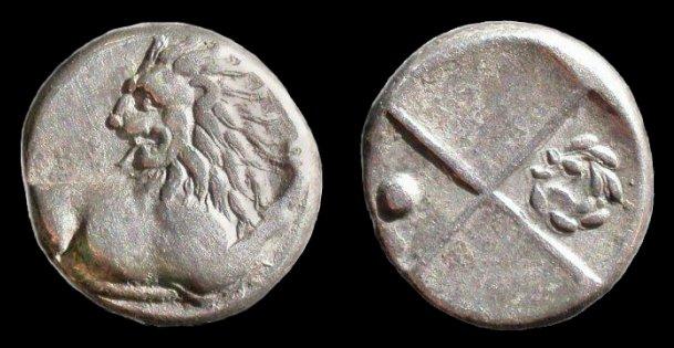 Monnaie grecque G00110