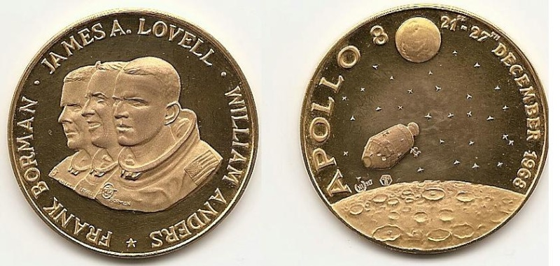 Moneda de oro conmemorativa. Or10