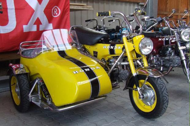 Wild looking K1200 sidecar Honda-11