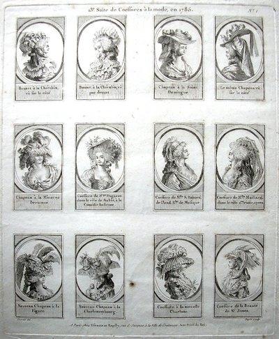 Coiffures du XVIIIeme: poufs, postiches, bonnets et chapeaux - Page 3 13esui10