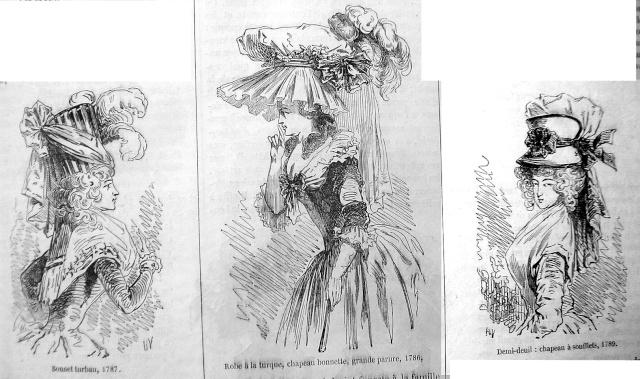 Coiffures du XVIIIeme: poufs, postiches, bonnets et chapeaux - Page 3 17862b10