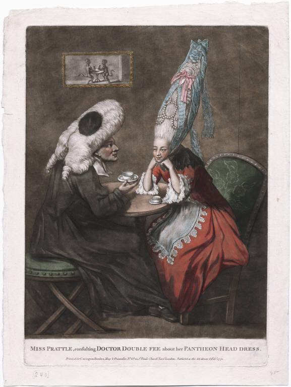 Coiffures du XVIIIeme: poufs, postiches, bonnets et chapeaux - Page 3 Image012