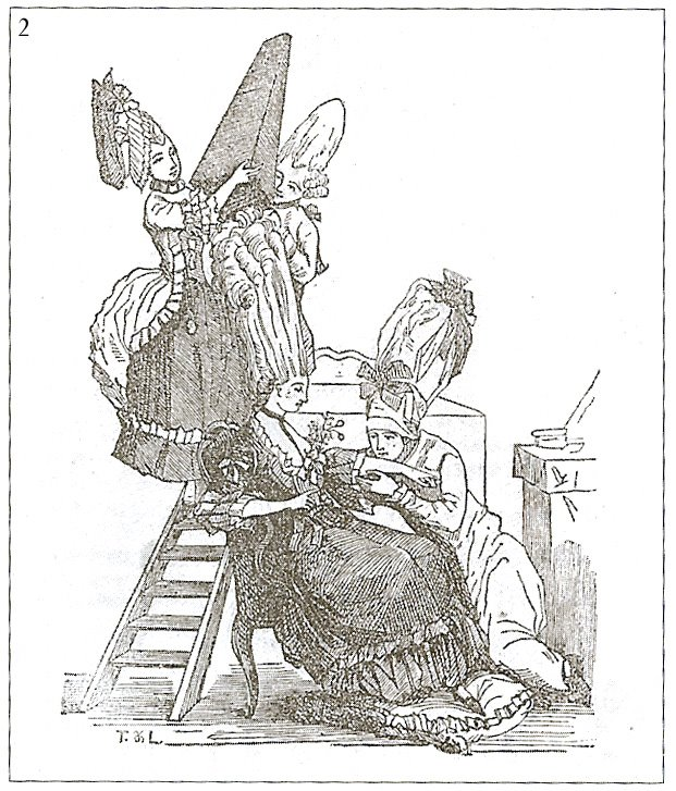 Coiffures du XVIIIeme: poufs, postiches, bonnets et chapeaux - Page 3 Pouf_b10