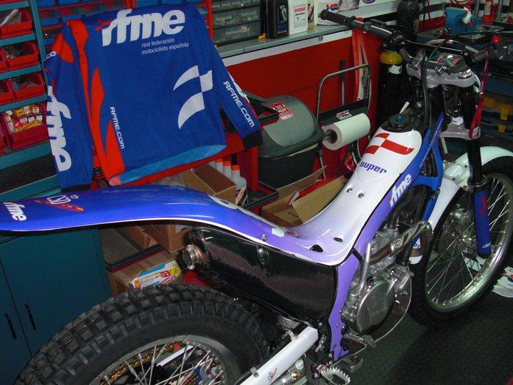 Montesa 4RT Fédération Real moto espagnol.  18003610