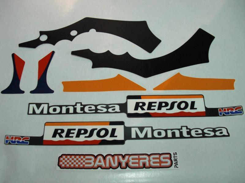 Adhésifs châssis originaux pour Montesa 4RT.......... Cimg8010
