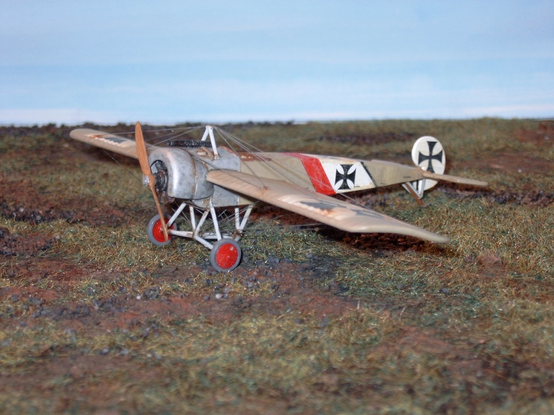 [revell] Fokker E.III UDET a ses débuts Finit_24