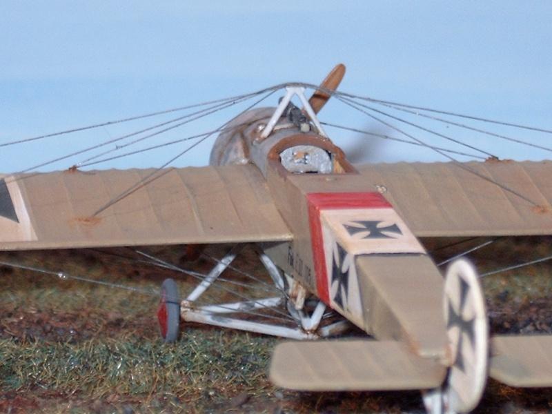 [revell] Fokker E.III UDET a ses débuts Finit_29