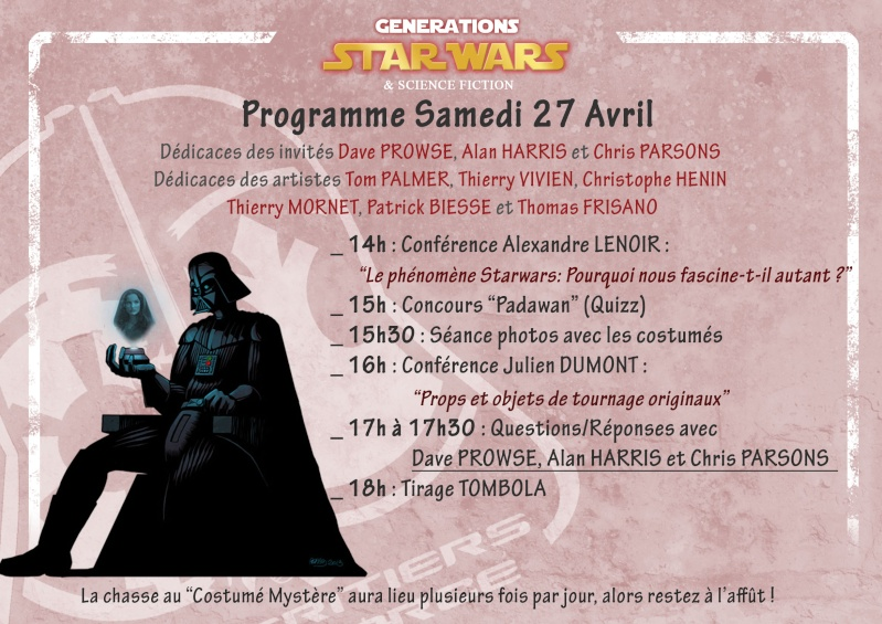 Générations Star Wars & SF - Cusset (03) 27-28 Avril 2013 - Page 8 Progra10