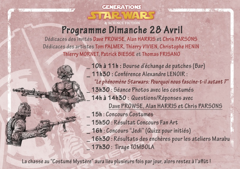 Générations Star Wars & SF - Cusset (03) 27-28 Avril 2013 - Page 8 Progra11
