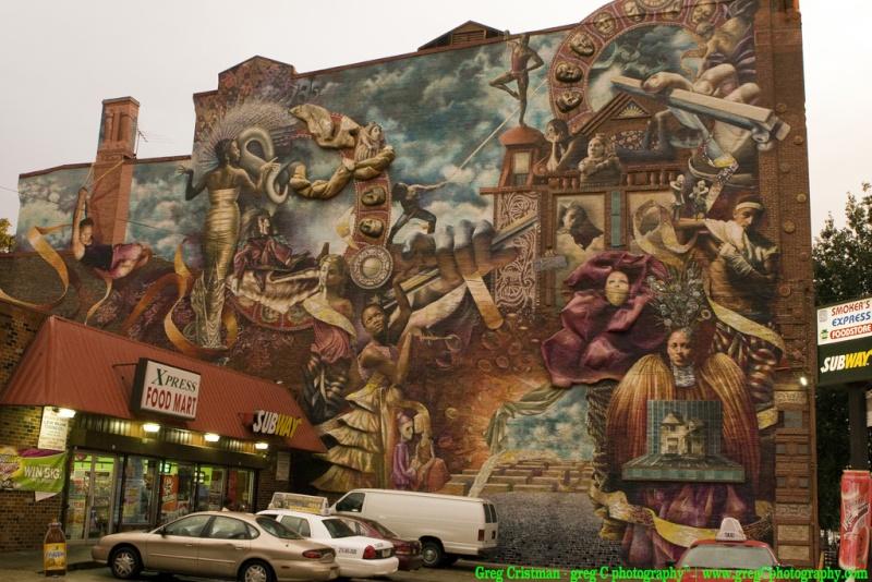 STREETVIEW : les fresques murales de Philadelphie  - Page 2 50314010