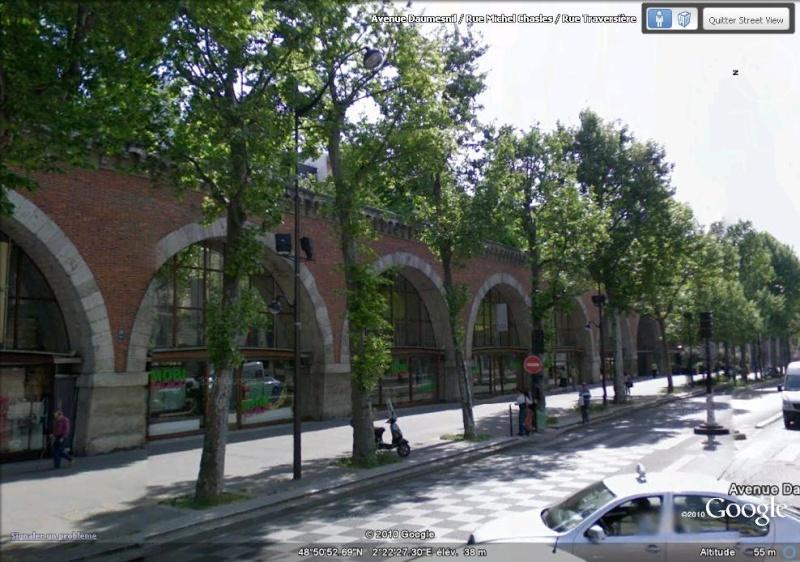 Les ouvrages disparus que Google Earth ne vous montrera plus... Avenue10