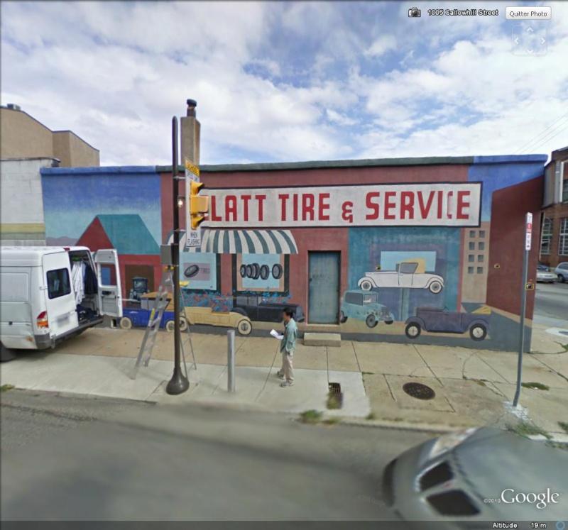 STREETVIEW : les fresques murales de Philadelphie  - Page 3 Blatt_11
