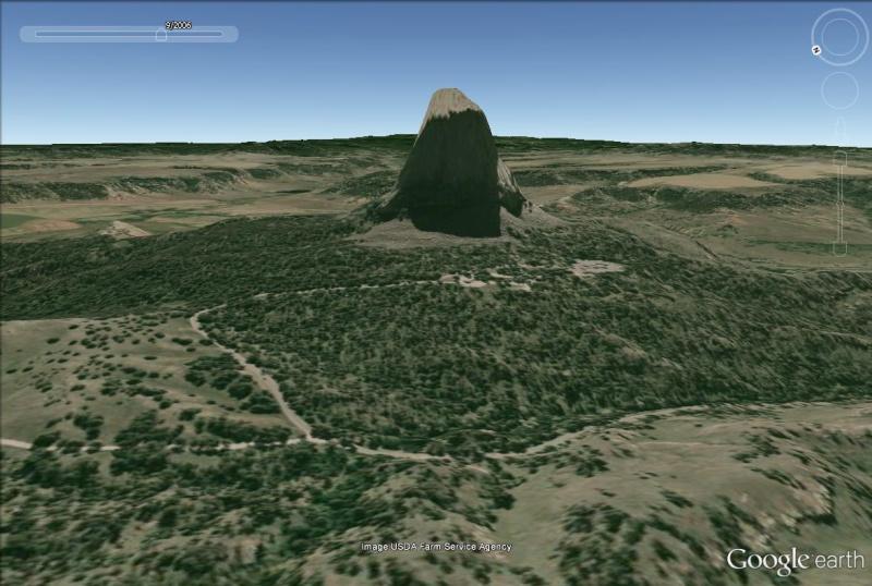 Lieux de tournages de films vus avec Google Earth Devils11