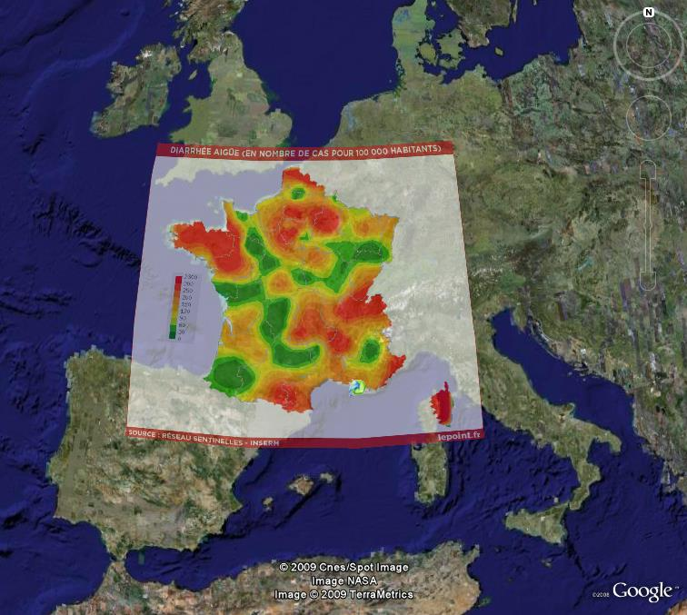 La France sous toutes ses coutures avec Google Earth - Page 4 Gastro10