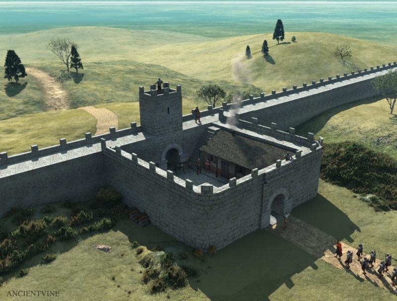 Le Mur d'Hadrien, frontière d'un empire - Page 3 Hadria10
