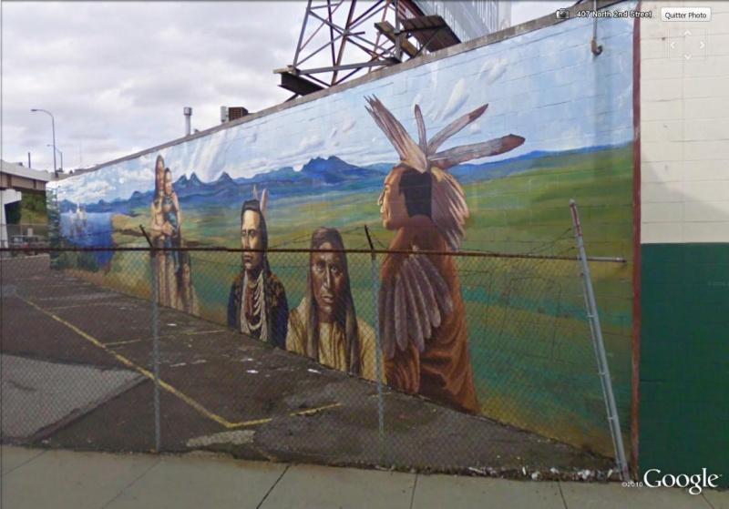STREETVIEW : les fresques murales de Philadelphie  - Page 2 Histor20