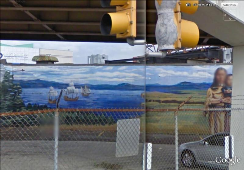 STREETVIEW : les fresques murales de Philadelphie  - Page 2 Histor21