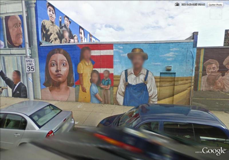 STREETVIEW : les fresques murales de Philadelphie  - Page 2 Histor25
