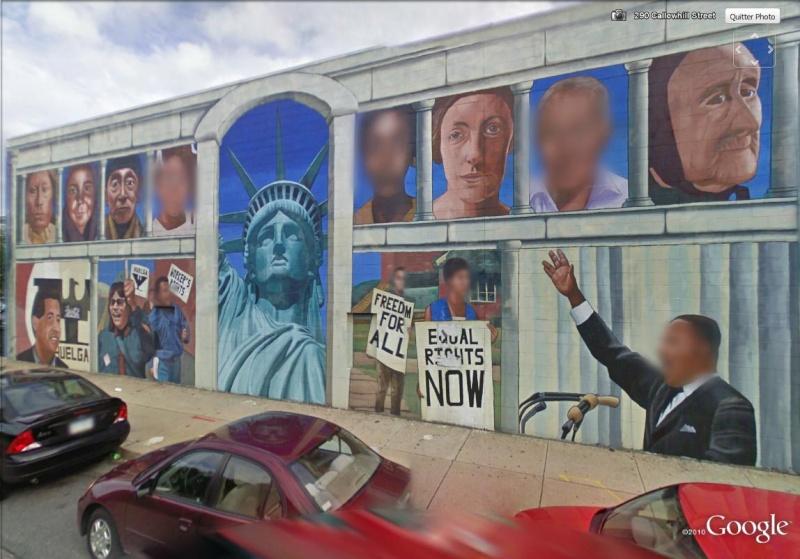 STREETVIEW : les fresques murales de Philadelphie  - Page 2 Histor26